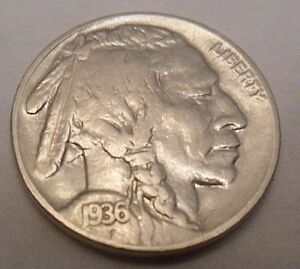 1936 P INDIAN HEAD