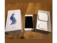 iPhone 6s 02 - Giffgaff 16GB silver Excellent Condition
