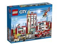 LEGO CITY Fire Station 60110 BRAND NEW AND SEALED