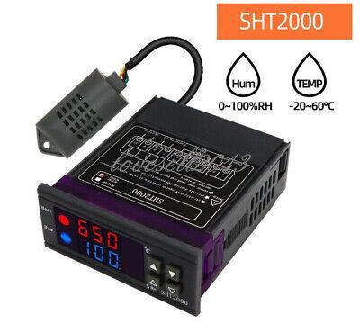 New Sht2000 Temperature Humidity Controller Hygrometer Thermostat Sensor