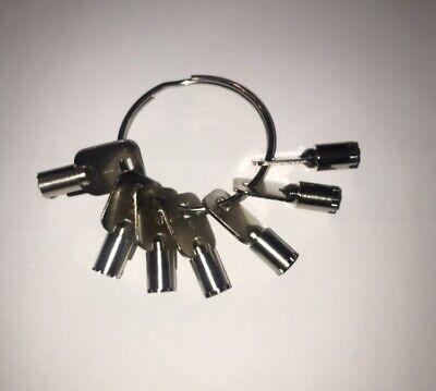 Ace-i--aceii-depth And Space Keys-7-cut Keys-locksmith-precision Cut