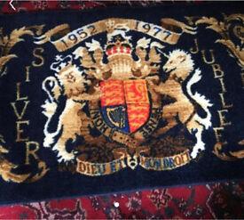 Rug - jubilee rug was £28 accept £5 (56x30)