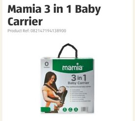 3 in 1 baby carrier from Aldi