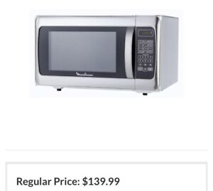 Moulinex stainless steel microwave