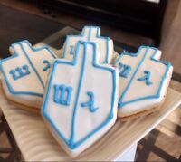 Dreidel Character Imperial Cookies By Goodies Bake Shop Winnipeg