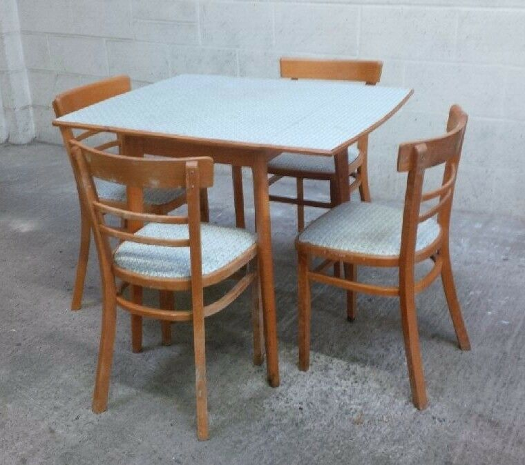 Vintage retro dining table and chairs | in Gloucester ...