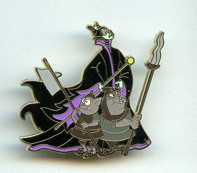 Disney Shopping Villain Series Maleficent Goons Goon Squad Sleeping Beauty Pin - Maleficent Goons