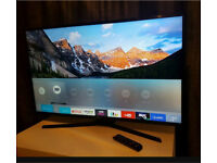 "4K Smart Samsung 40"" Ultra Hd led wifi tv with freeview hd with box excellent condition"