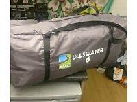 Ulwater 6 tent 6 birth with electric hook up and wardrobe