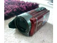 Sony handycam hdr-cx130e Limited Edition red colour, rare find!