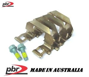 PBR Rear Caliper Pad Anti Rattle Spring Shims Clips for Ford Territory