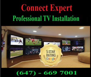 TV Wall Mounting Service,TV wall mount,*connect expert.ca*