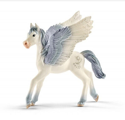 Schleich 70543 Pegasus Foal Bayala Toy Winged Model Horse Figurine 2017 - NIP