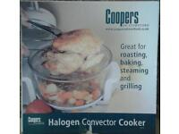 Halogen oven plus lid stand plus accessory pack plus air-fryer accessory