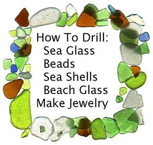 You Can Drill  Beach Sea Glass Diamond To Make Jewelry Drill Bits Dremel Bit