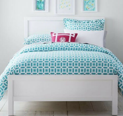 Pottery Barn Teen Aqua Pool Peyton Twin Duvet Bedding - $34.99