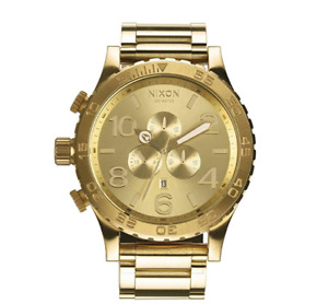 Like NEW NIXON GOLD 51-30 watch men\homme montre or