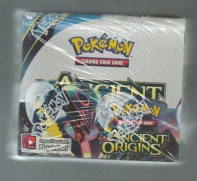 Pokemon XY XY7 Ancient Origins Booster Box Factory Sealed