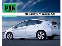 TOYOTA PRIUS UBER READY & REGISTERED ONLY £99 P/W