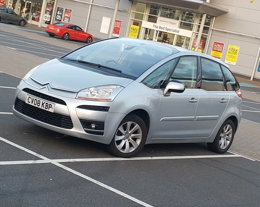*LUXURY* Citroen C4 Picasso 2.0 HDi Exclusive EGS *Top Specs* FSH Vauxhall Meriva, ford C-Max