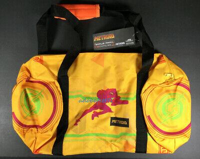 Metroid Samus Returns Collector's Box Duffel Bag with Samus artwork - NEW  (Returns Collector)