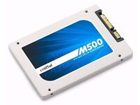 CRUCIAL M500 120Gb SSD DRIVE,FOR DESKTOP OR LAPTOP.