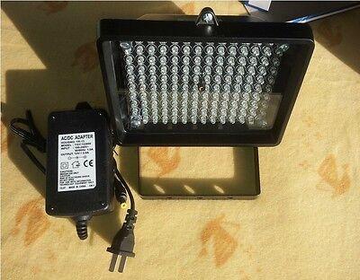 140 LED IR Infrared Illuminator Light Night Vision With Adapter Outdoor 18W