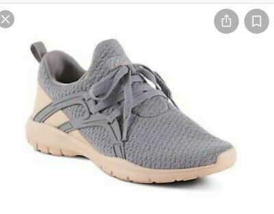 New $40 LA Gear Women's Memory Foam Tawnie Cross-Training Shoes - Grey Size 8.5M