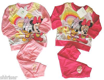 Disney Baby Minnie Maus Daisy Kleinkind Pyjama langarm Schlafanzug für Mädchen  ()