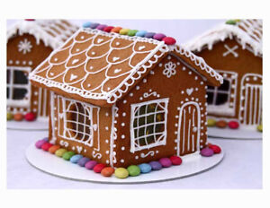 Handmade Small Gingerbread House Kit