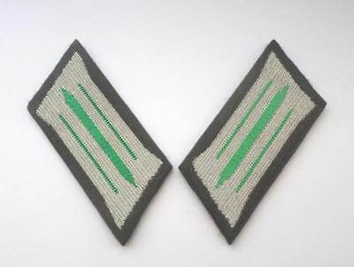 DDR NVA Kragenspiegel fr Uniform Grenztruppen E-german Border troops collar tabs