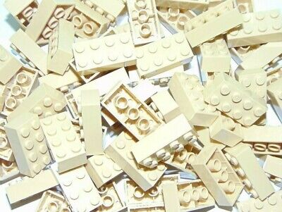 NEW Lot of 25 LEGO 2x4 TAN Beige BRICKS PIECES BULK