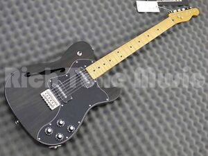 Fender Modern Player Telecaster Thinline Deluxe - Maple - Black
