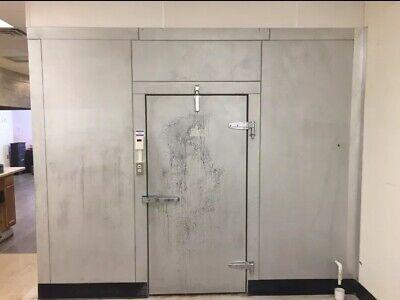 Snowman Indoor Walk In Cooler 8x10x7ft - Very Nice Condition