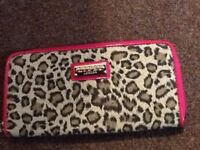 Lipsy leopard print purse brand new