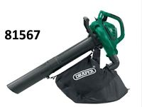 DRAPER 81567 GARDEN VACUUM/MULCHER AND BLOWER (2600W)