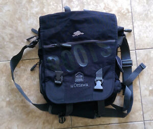 Convertible laptop/backpack bag