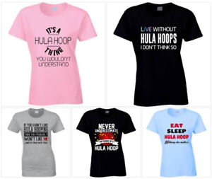 NEW Hula Hoop / Hula Hooper Themed T-Shirt Mother's Day Gifts