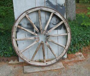 Wooden Ox Cart Wheel,