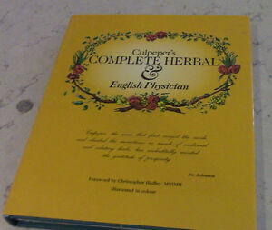Culpeper's Complete Herbal & English Physician, 1997