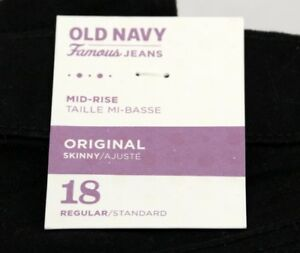 Women's Old Navy Jeans – Black - Size 18 NWT