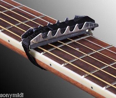 Cejilla guitarra Española clasica tipo Dunlop plana - Classical Guitar Capo
