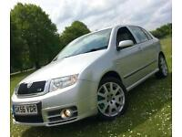 Skoda Fabia 1.9TD VRS 130**Just 1Former Owner From New With 8 Stamps,Superb!**