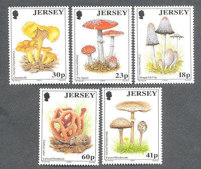 Jersey Fungi 1994 set mnh