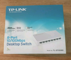 TP-Link TL-SF1008D 8-Port Fast Ethernet Switch