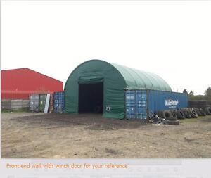 Heavy Duty 40x40 Double Truss Seacan Container Shelter Edmonton Edmonton Area image 4