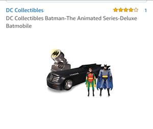 BNIB DC Collectibles Batman-The Animated Series-Deluxe Batmobile