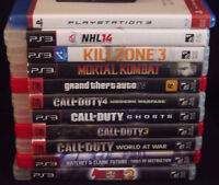 "Good Games Sony Playstation 3 PS3 ""10"" TEN Games Lot"