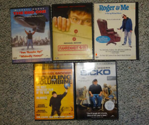 Michael Moore DVD's (5 For $10)
