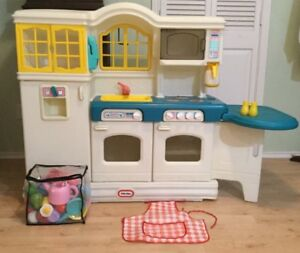 RARE CUISINE VINTAGE - LITTLE TIKES COUNTRY - RARE KITCHEN